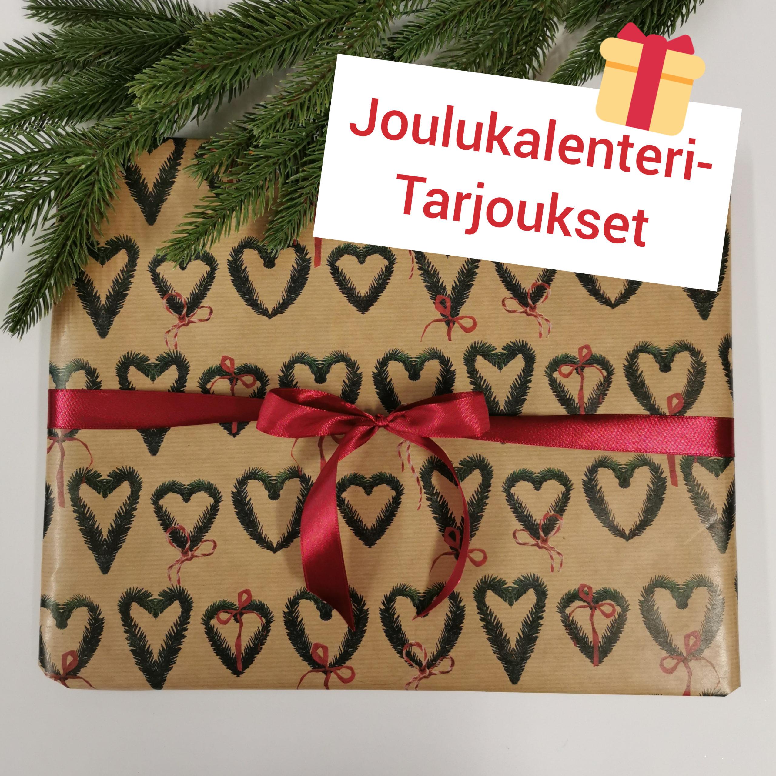 Joulukalenteritarjoukset